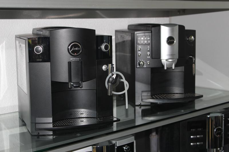 Kaffeemaschinen und Kaffeeautomaten Verleih